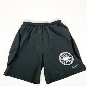 Nike Soul Cycle gray lined athletic shorts